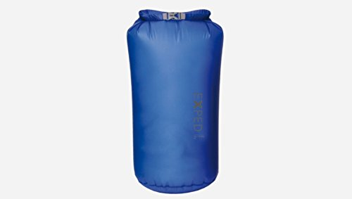 Exped Ultralight Fold-drybag, Blue, Large/ 42x22 cm