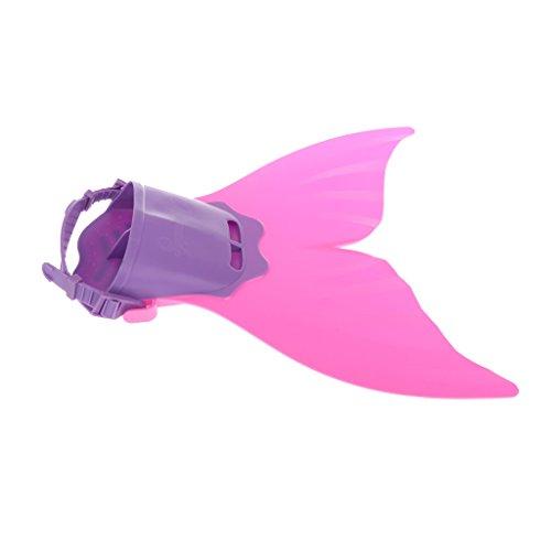 Fin Flossen Seejungfrau Monofin Spielzeug Jungen Mädchen Kinder Verstellbar Für Schwimmen