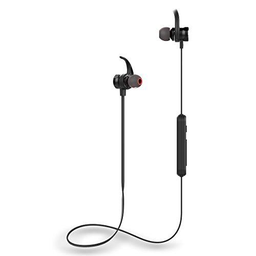 CE-Link Bluetooth Kopfhörer Bluetooth Headset in Ear Sport Kopfhörer Ohrhörer Earbuds Noise Cancelling Earphone Schwarz