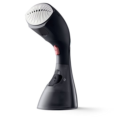 Philips GC440/87 Style Touch 2-in-1 Dampfbürste, Smart Flow Keramiksohle, Entkalkungsfunktion, 1500 W, schwarz