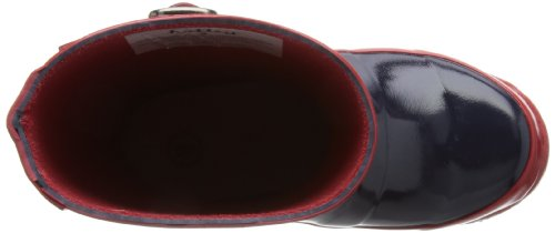 Hatley Splash Rb5cgbl001, Bottes de Pluie fille Bleu - Classic Navy