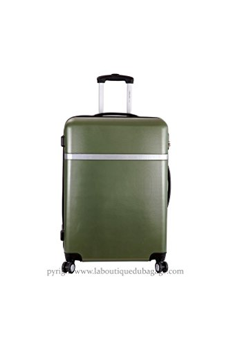 FRANCE BAG - FRANCE BAG Valise cabine Low Cost rigide CATANE Vert - 141026-1-VR