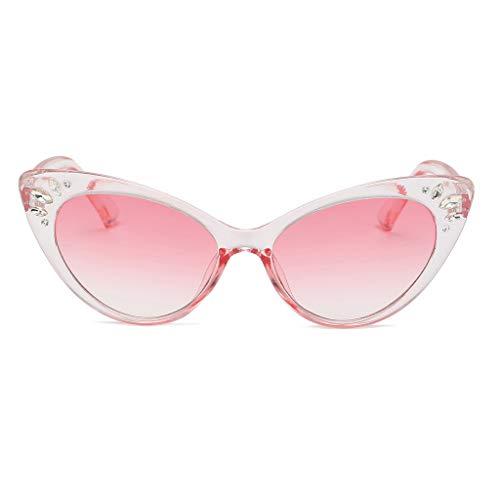 Jaysis Männer Vintage Eye Sonnenbrillen Retro Eyewear Fashion Strahlenschutzneonfarben herzform...