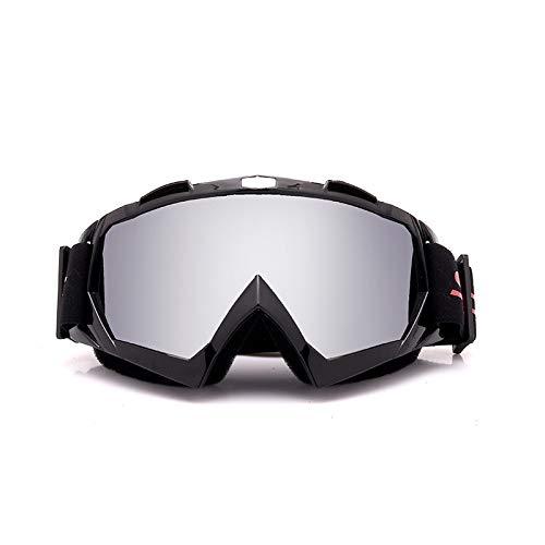 WDDP Skibrille Für Männer Und Frauen, OTG-Snowboardbrille Mit Doppellinse (UV400-Schutz Und Antibeschlag) Für Skating-Skifahrer,E