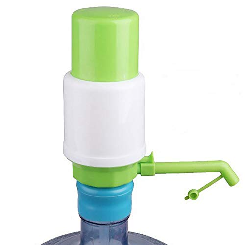 Ghair2 - Dispensador Manual de Bomba de Agua para Bebidas, dispensador de Botellas a Mano, dispensador Manual de Botella, dispensador de Espiga, hogar, Oficina y Aire Libre, Verde, 1