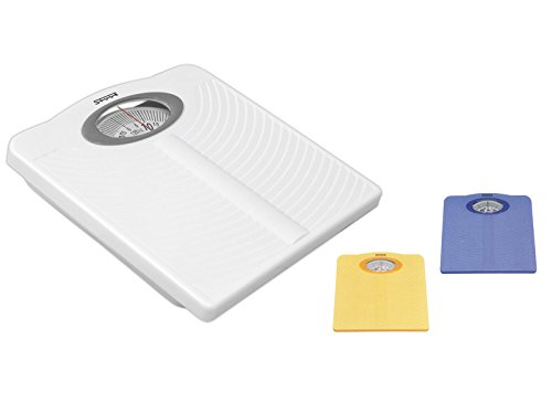 Stube 196 Mechanical Personal Scale Square Blue Personal Scale - Personal Scales (Analogue, Blue, 291 mm, 290 mm, 57 mm)