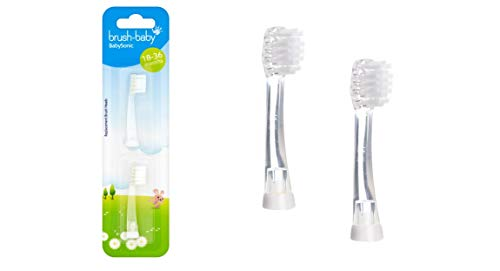 Brush-Baby BabySonic Recambio Cabezas (18 TO 36 meses)