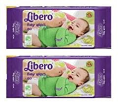 Libero Baby Wet Wipes - 160 Counts