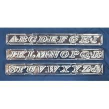 Windsor Clikstix Schablone, Alphabet, Großbuchstaben