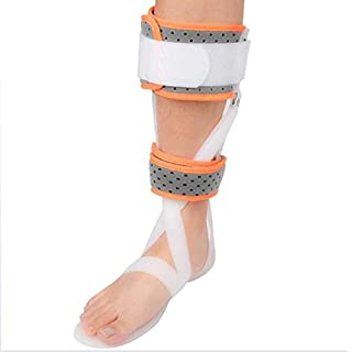 JL Ankle Support Orthosis Foot Drop AFO Postural Correction Brace Splint,White/rightfoot,S