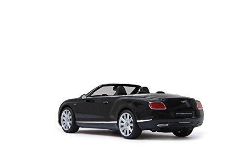 Jamara 404505 - Bentley Continental GT Speed Cabrio 1:12, schwarz