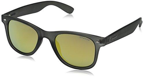 Polaroid Unisex adulto PLD 6009/S M LM UJB Gafas de sol, Gris (Dk Grey Trans/Grey Goldmir Pz), 50