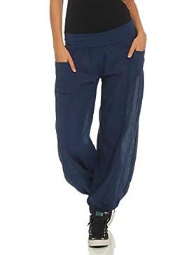 81ca448b61d0 malito Pantaloni di Stoffa Pump Pantaloni Aladin Libero Tuta 17633 Donna  Taglia Unica