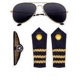 (Widmann–Set Kostüm Pilot, Einheitsgröße (00085))