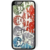 snoopy wallpaper at christmas time for iPhone 6 Plus/6s Plus Black case
