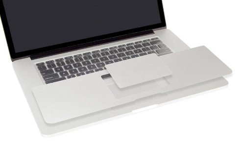 Moshi 99MO012211 PalmGuard Case für Apple MacBook Retina 33 cm (13 Zoll) mit Trackpad Protector (Protector Trackpad Apple)