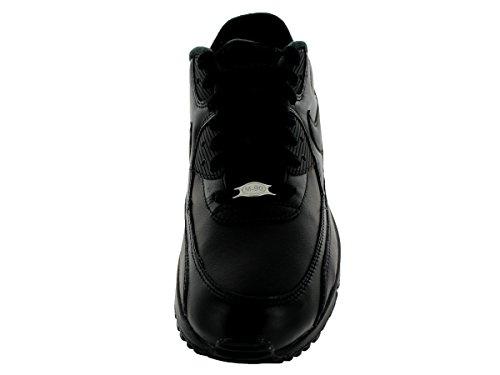 Nike Air Max 90 Leather Scarpe da ginnastica, Uomo Black/black