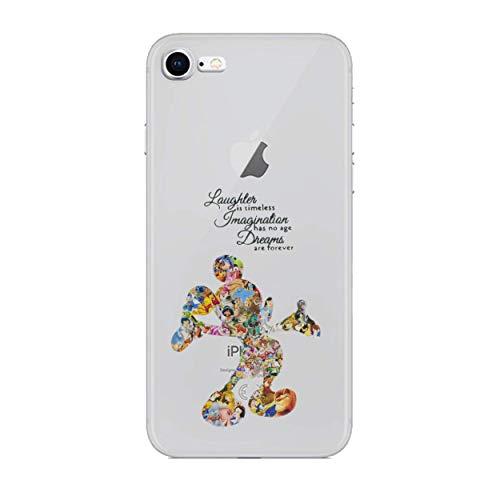 iPhone 8 Fankunst Silikonhülle/Gel Hülle für Apple iPhone 8 (4.7
