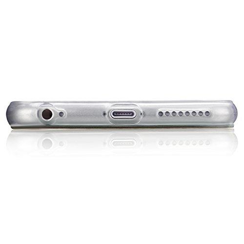 tinxi® Silikon Schutzhülle für Apple iPhone 6 Plus/6s plus 5.5 zoll Hülle Silicon Rückschale Cover Case Etui Schutz viele Eulen in gelb viele Eulen in gelb