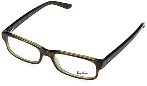 Ray-Ban RAYBAN Unisex-Erwachsene Brillengestell 5187, Braun (Havana), 50