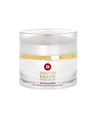 Docteur Duve – Boosting Mask – Masque Anti-Âge pour le visage avec acide hyaluronique, extraits de cellules souches et les facteurs de croissance 1 (1 x 50 ml)