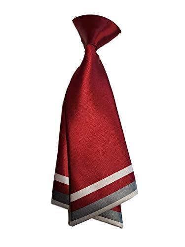 Fett Mädchen Kostüm - Damen mädchen mode vorgebunden satin schleife krawatte doppelschichtig Krawatte 10+ farben party kostüm von Fett-Catz-Kopie-catz - weinrot Damen Krawatte, One size