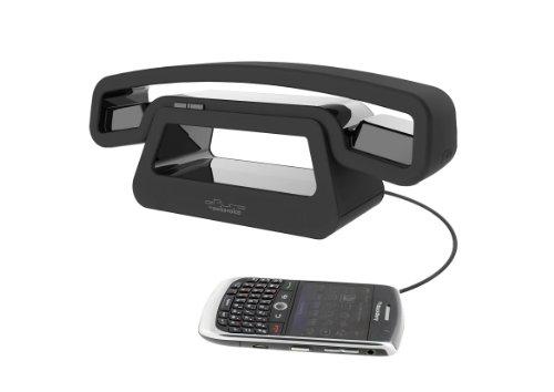 Swissvoice BH01u schnurloser Telefonhörer für Handys, Smartphones, PCs und Tablets im ePure Design mit Lautsprecherfunktion