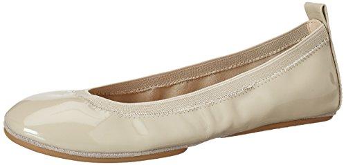 Yosi Samra Samara Flat Patent 2 W, Ballerine Donna Beige (Taupe)