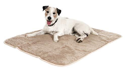 Beige Fliesen-böden Legen (Maxi-Pet 84550 Thermodecke, 100 x 75 cm grau und beige sortiert