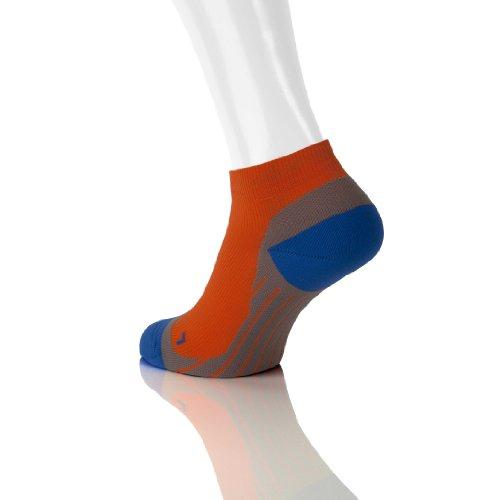 Sport Kompressions Sneakers 'under pressure' Competition (orange, 43-46)