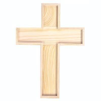 Holz-Kreuz 22,5x16,5x2cm CRI 073510000