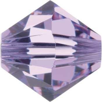 Original Swarovski Elements Beads 5328 MM 5,0 - Tanzanite AB (539 AB) ; Diameter in mm: 5 ; Packing Unit: 720 pcs. Violet (371)