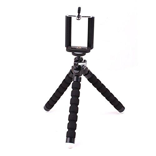 Soporte para cámara digital cámara, actions Cam Go Pro, trípode flexible ligero exterior para teléfono móvil trípode soporte para iPhone, Samsung, Huawei y otros Smartphone