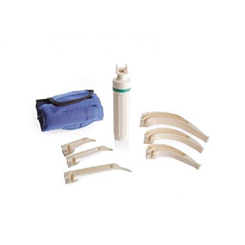 hojas-de-fibra-optica-laringoscopios-desechables-mango-reutilizable-kit