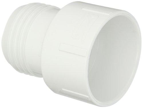 Spears PVC-Rohr Fitting, Adapter, Schedule 40, weiß, Stacheldraht X Sockel, 3