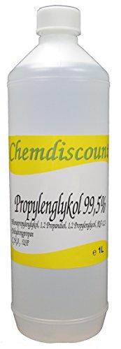 Propylenglykol 99,5% 1Liter VERSANDKOSTENFREI! 1000ml 1,2-Propandiol in Pharmaqualität USP,