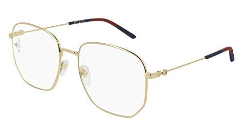 Gucci Brillen GG0396O GOLD Unisex (Männer Gucci Brillengestelle)