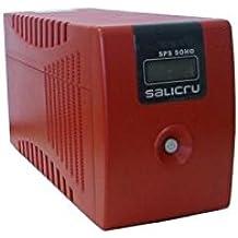 Salicru SPS.1000.SOHO 1000VA sistema de alimentación ininterrumpida (UPS) - Fuente de alimentación continua (UPS) (1000 VA, 600 W, 50/60, Sealed Lead Acid (VRLA), 6 h, 40 min)