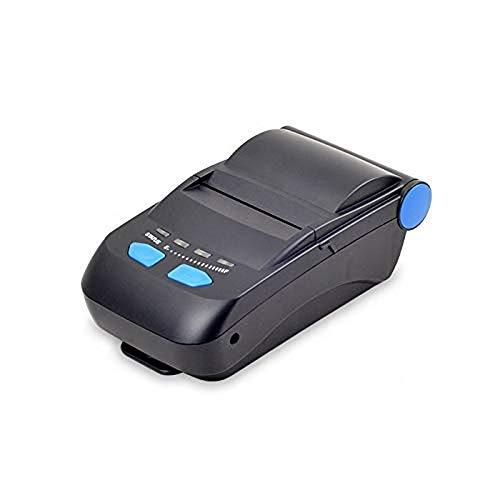 Ac Clam (WSMLA Etikettendrucker Direkter Thermo-Etikettendrucker Schneller Druck Tragbarer 58-mm-Taschen-Handdrucker Mobiler Bluetooth-Thermobondrucker)