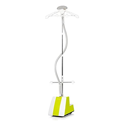 Fridja f1400 Professional Garment / Clothes Steamer with Remote Control - Lime / Betty - 2017 Updated