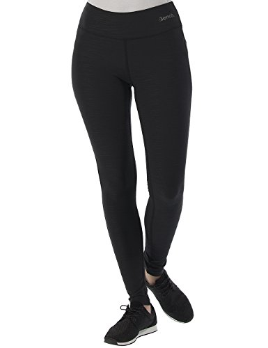 Bench Damen Leggings Baddah O, Jet Black, XL, BLNF0037O
