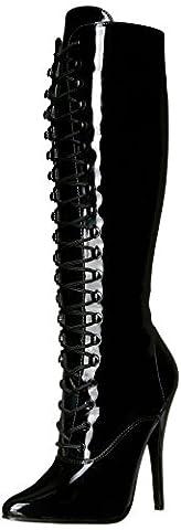 Devious DOMINA-2020, Bottines Classiques femme, Noir (Blk Pat), 39 EU (6 )