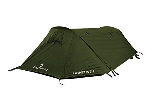 Ferrino Lightent Vorhang Lite, grün, Unisex - Erwachsene, Lightent 1 Lite, grün, 1 Posto