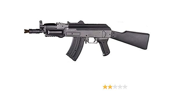 vendita vietata alle persone di et/à inferiore ai 18 anni 100 biglie Attenzione CyberGun Fucile a sfere AK 47 Kalashnikov Spring 0.500 Joule