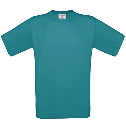 B & C Kollektion Exact 190Shirt BA190 Blau - Diva Blue