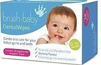 Brush-Baby Dental Wipes - box of 28