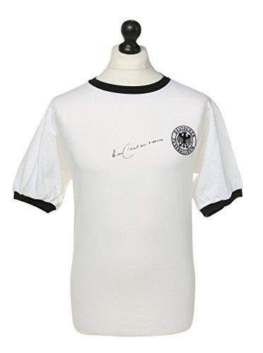 Franz-Beckenbauer-Signed-Retro-Germany-Shirt-Autograph-Jersey-Memorabilia-COA