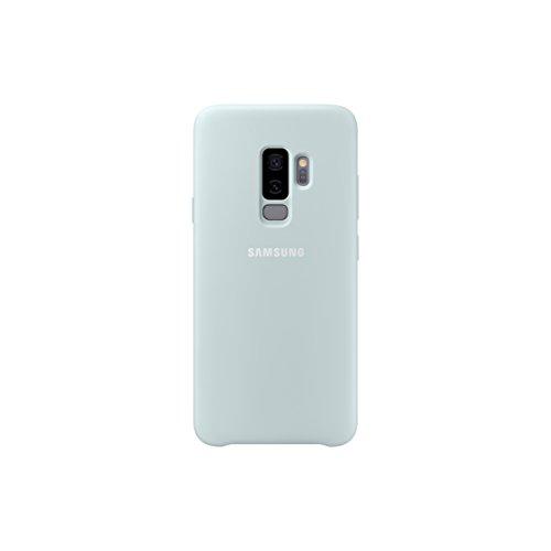 Samsung Silikon Schutzhülle für Galaxy S9 + Blau/mintgrün -