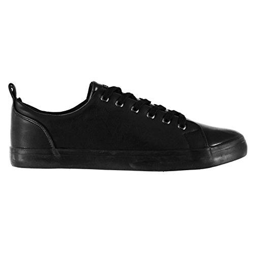 Soviet Hommes Bux Chunk Chaussures Baskets A Lacets Sport Casual Noir