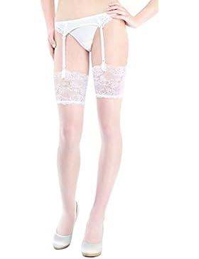 Marilyn Super puede Medias con 15cm punta borde, 20Denier